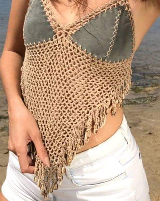 52 Awesome Easy Crochet Tops For This Summer 2019 Women Crochet Blog