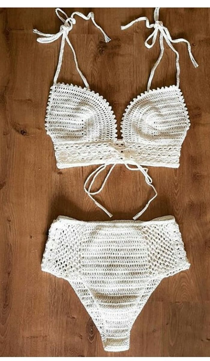 43 Modern Crochet Bikini And Swimwear Pattern Ideas For Summer 2019