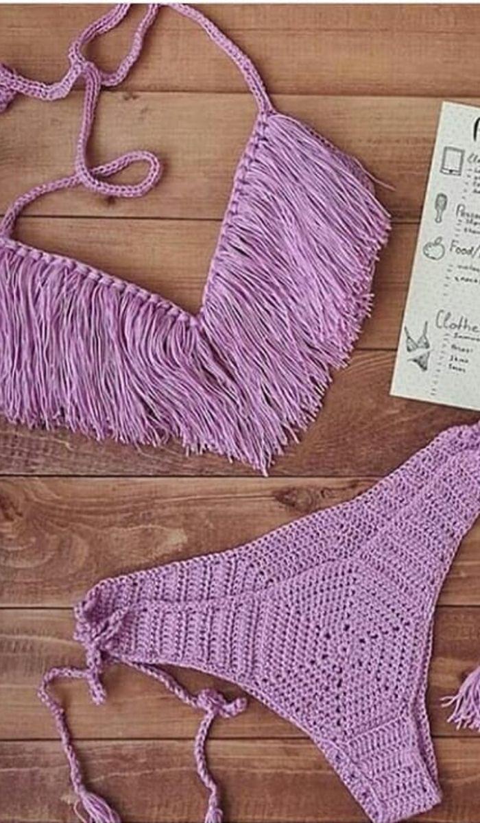 43 Modern Crochet Bikini And Swimwear Pattern Ideas For Summer 2019
