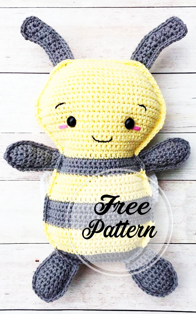 Busy Bee Amigurumi Free Crochet Patterns | 1024x640