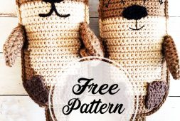 free-amigurumi-otter-family-crochet-pattern-design-idea