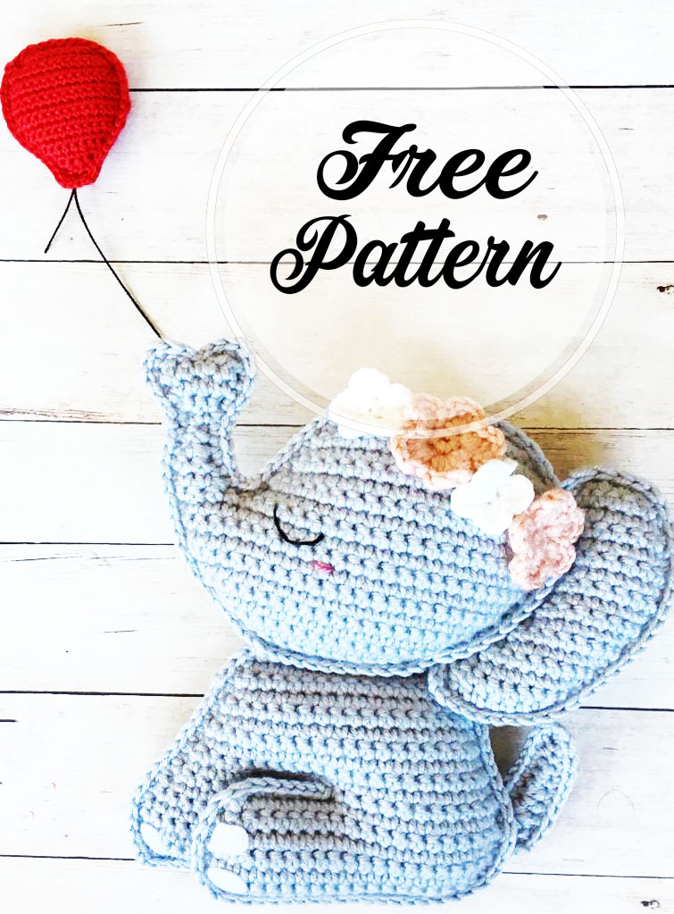 The Sweetest Crochet Elephant Patterns To Try | The WHOot | 1023x755
