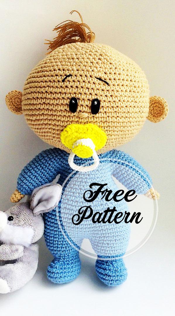 Basic doll body crochet - YouTube | 1080x598