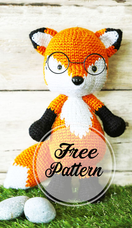 Fox Amigurumi, Mr. Furu - Free Crochet Pattern | Craft Passion | 735x427